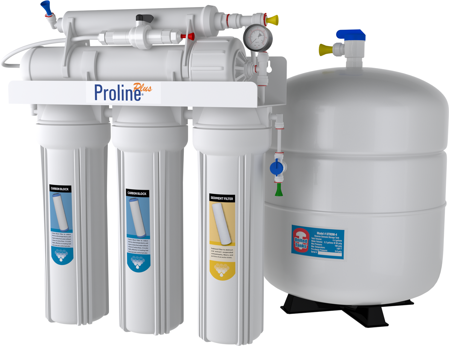 proline plus ro reverse osmosis filtration system. Black Bedroom Furniture Sets. Home Design Ideas