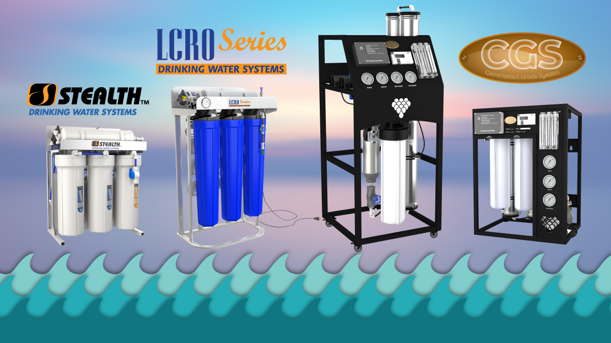 Light Commercial and Commercial RO Systems